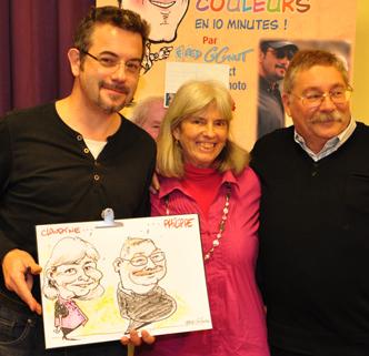 2-caricature en direct 2012