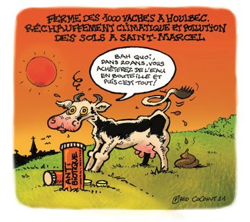 6-Dessin pour le journal Le Saint Marcellois